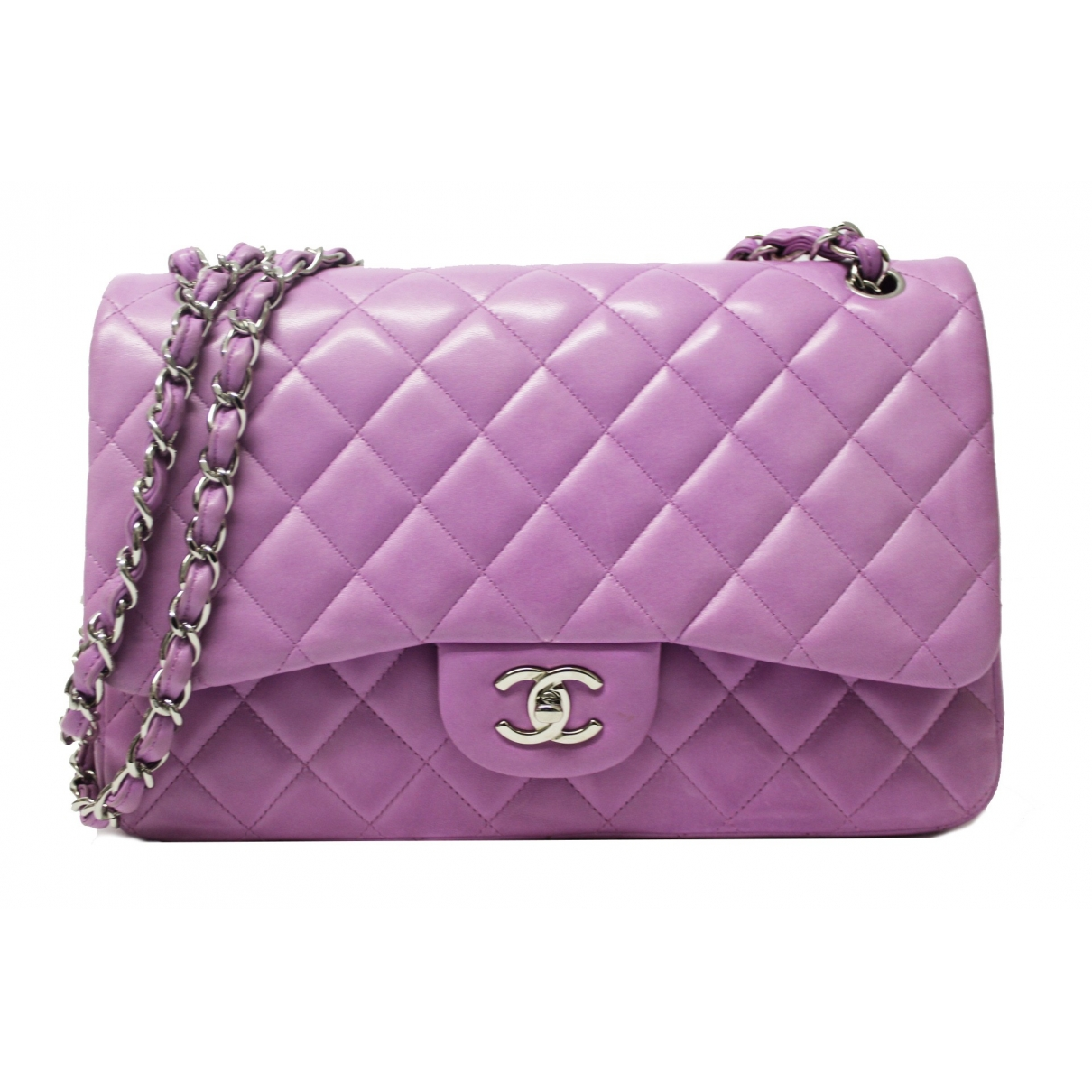 Chanel 2.55 Pink Leather handbag for Women \N