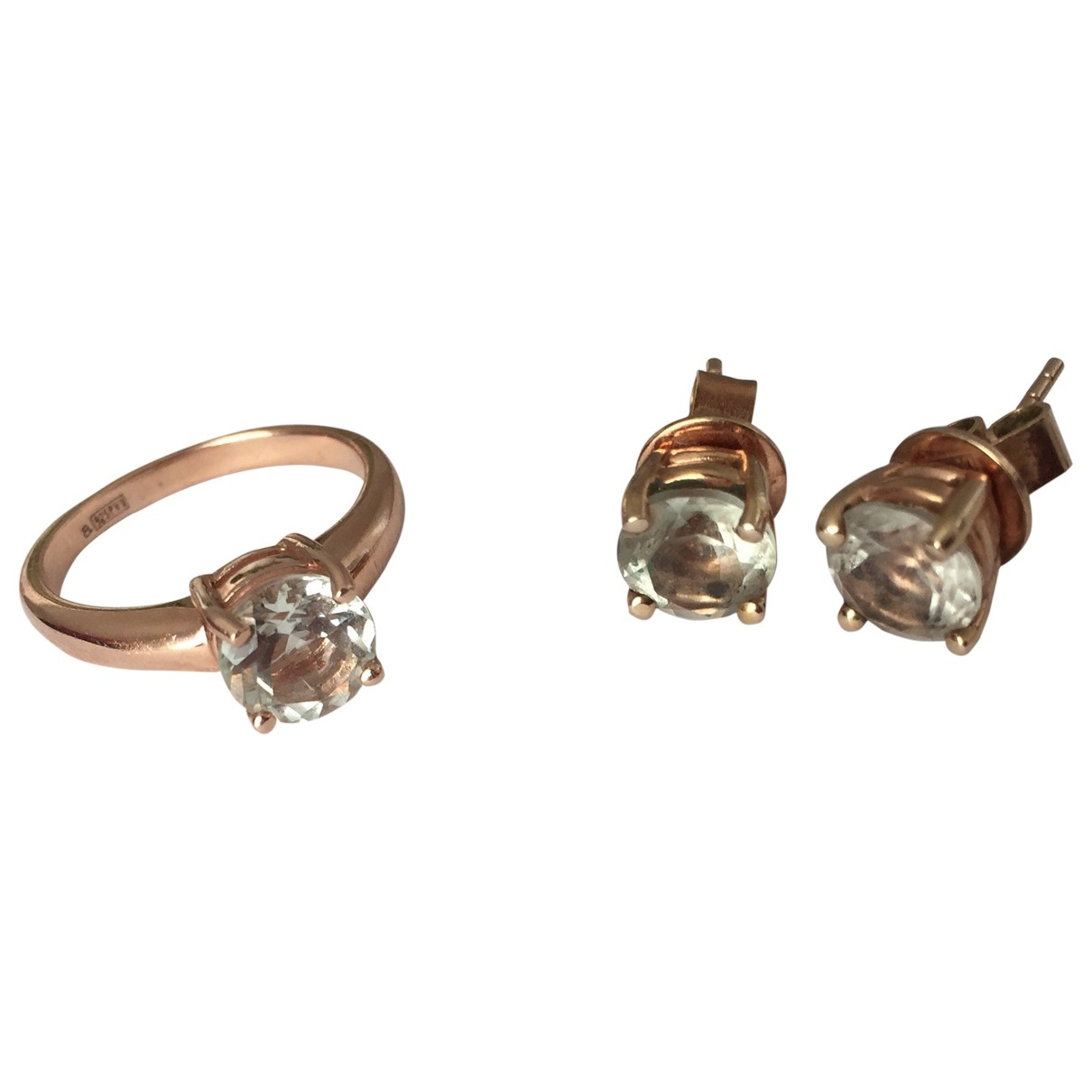Aristocrazy \N Pink gold Jewellery set for Women \N