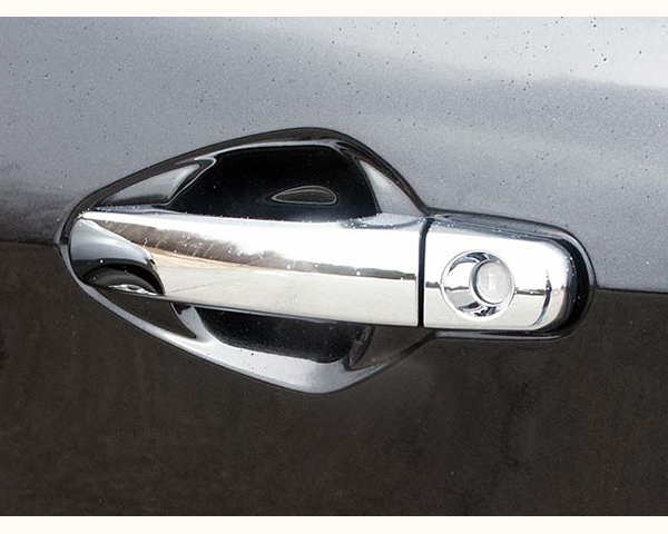 Quality Automotive Accessories ABS | Chrome Door Handle Cover Kit Chevrolet Malibu 2011