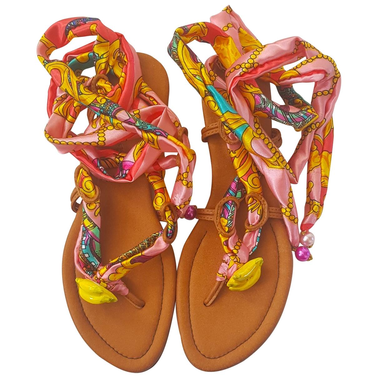 Alameda Turquesa - Sandales   pour femme en cuir - multicolore