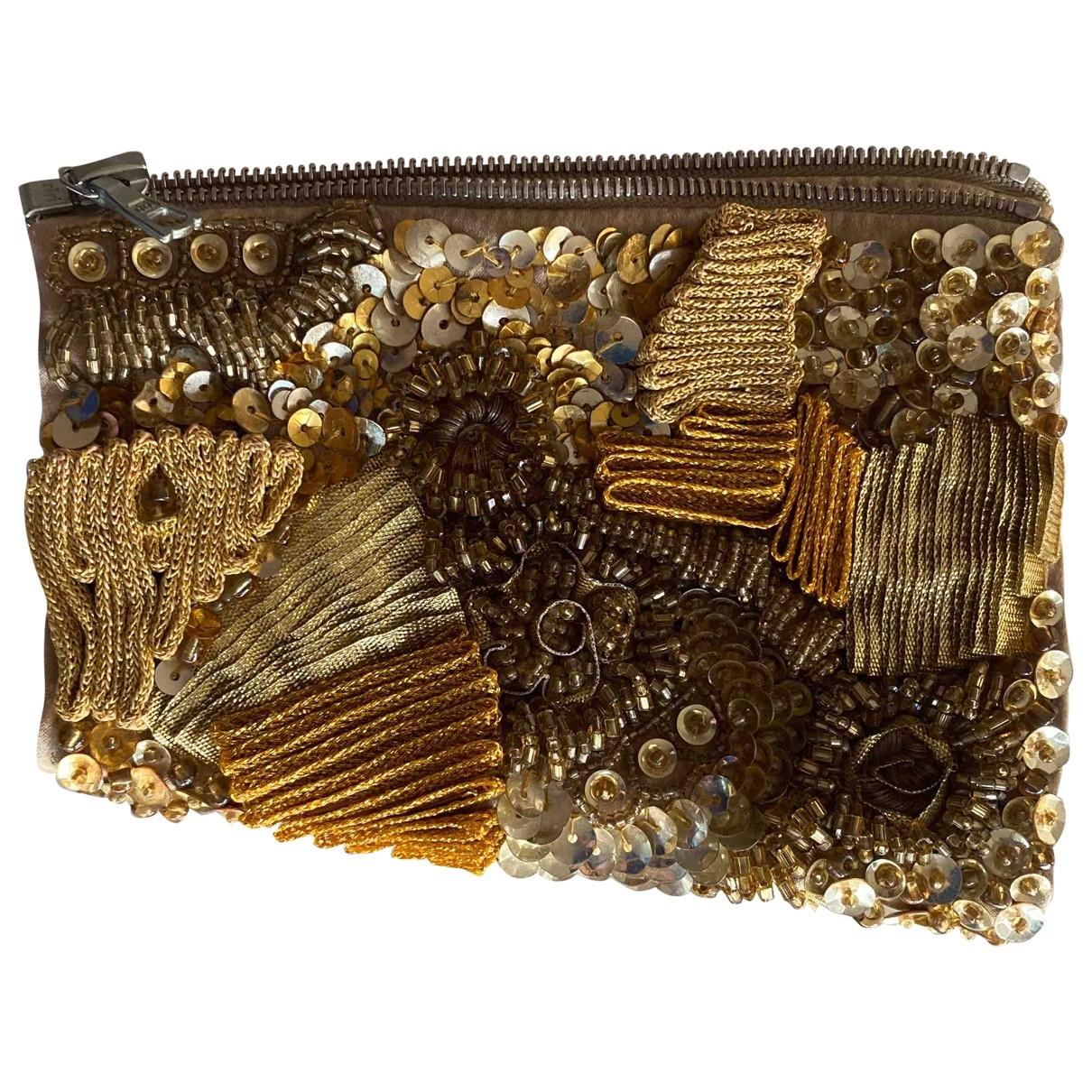 Dries Van Noten - Bracelet   pour femme en perles - dore