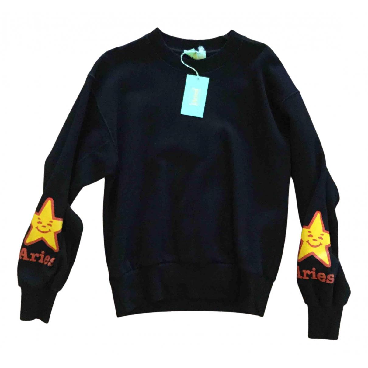 Aries \N Black Cotton Knitwear for Women XS International