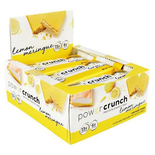 Power Crunch Lemon Meringue 12 Count by Power Crunch