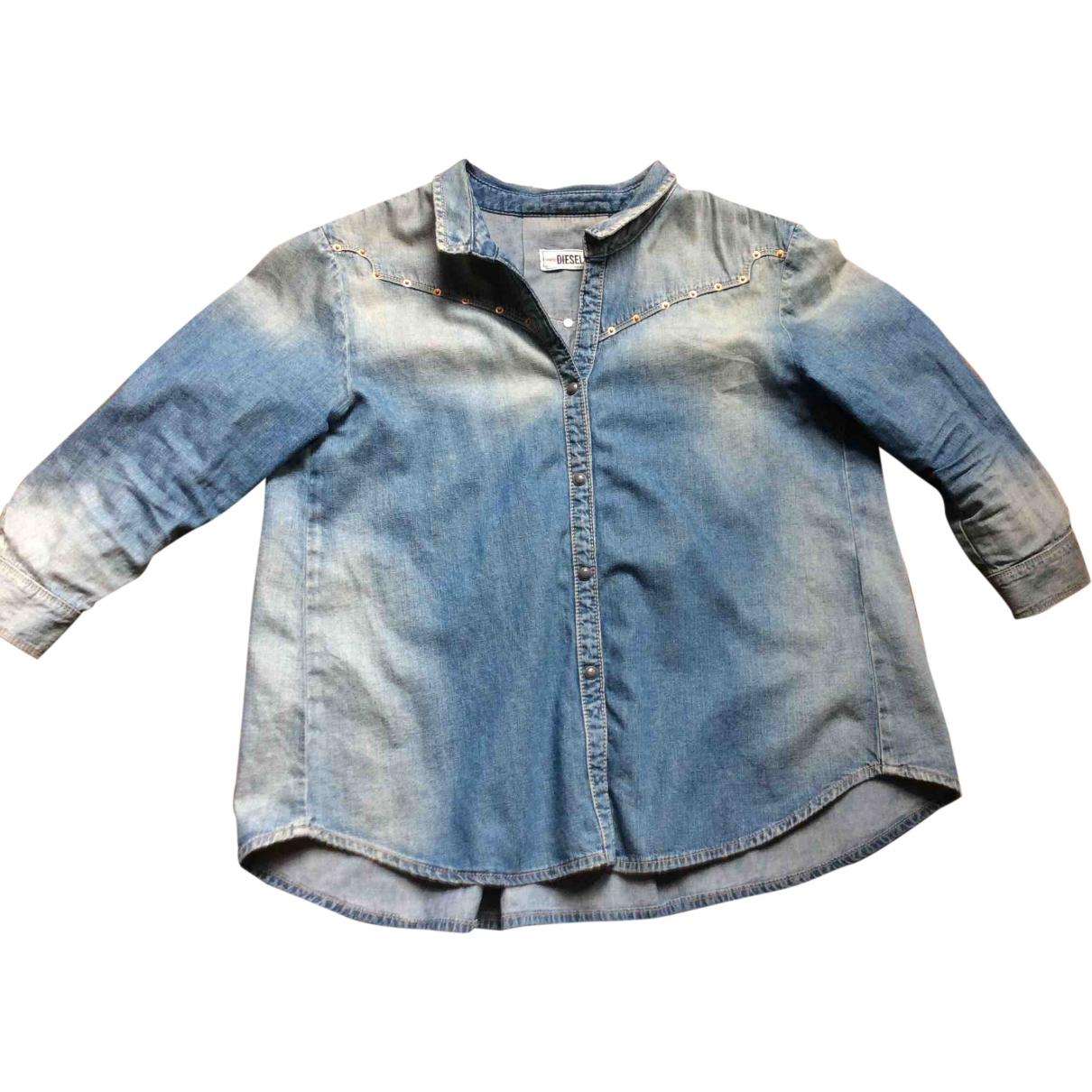 Diesel \N Blue Denim - Jeans  top for Women S International