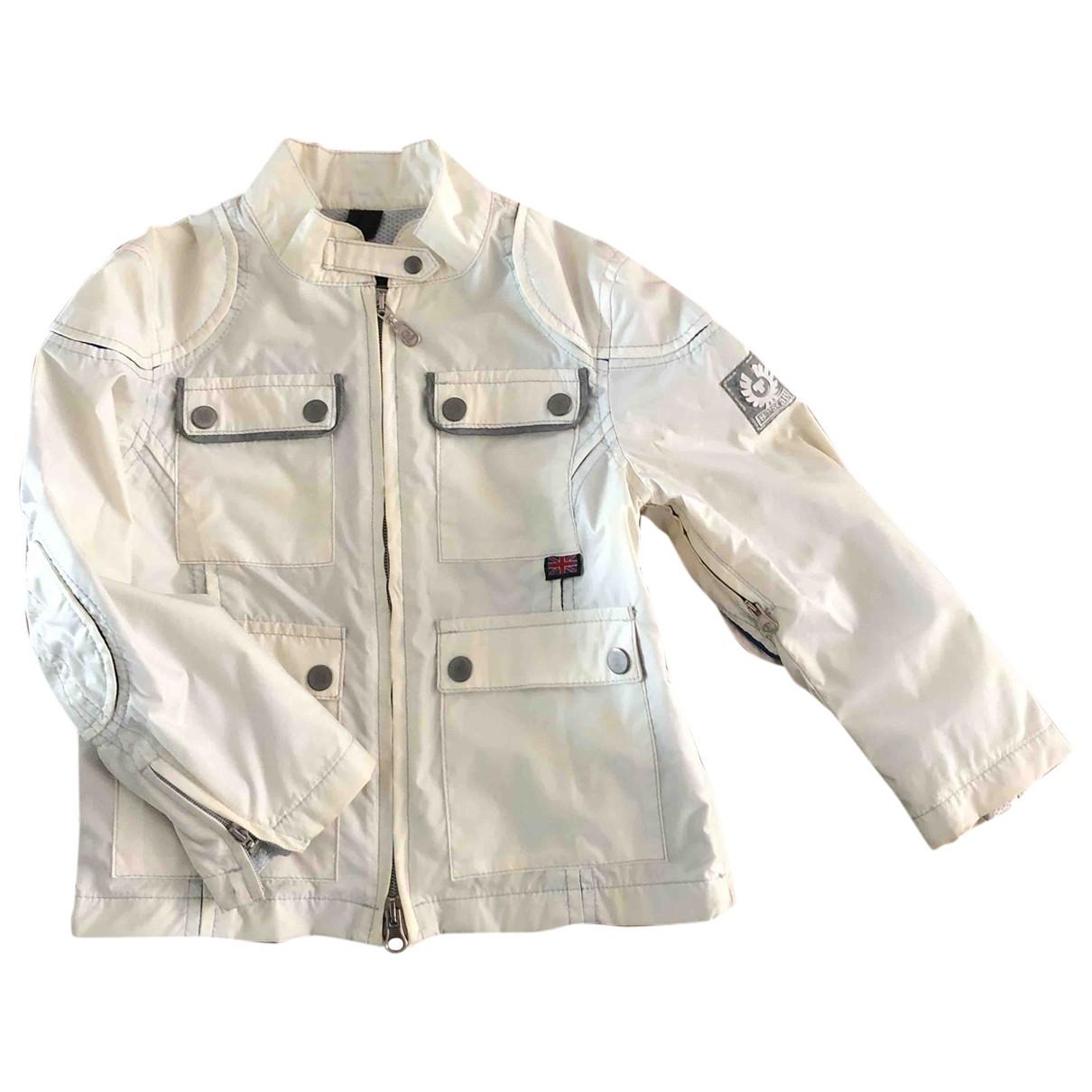 Belstaff - Blousons.Manteaux   pour enfant - blanc