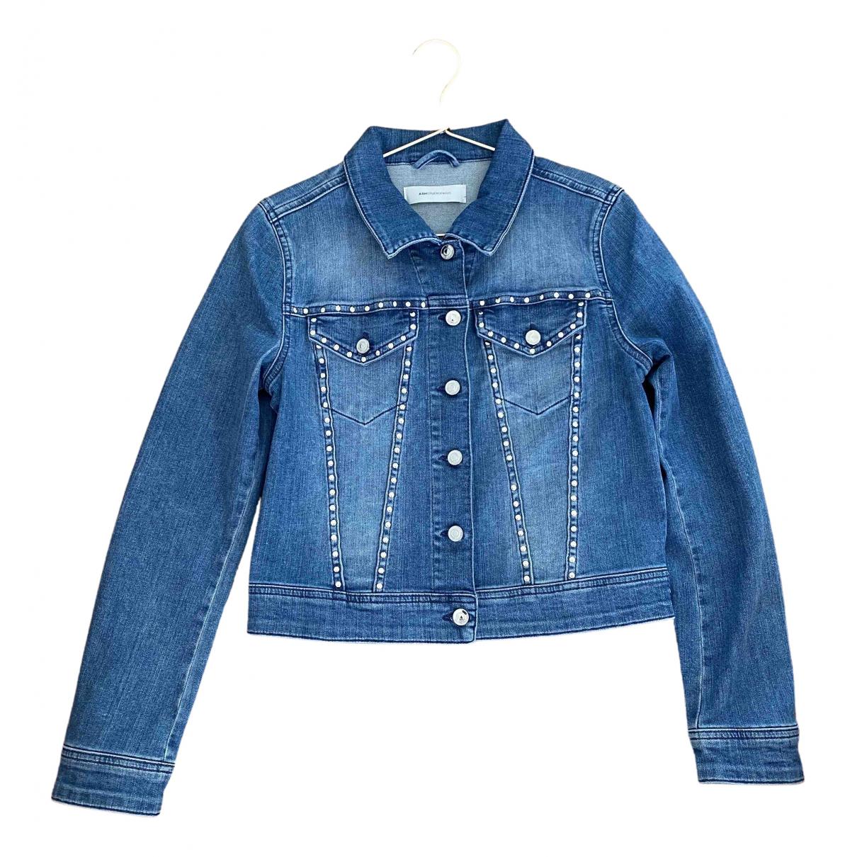 Ash \N Blue Denim - Jeans jacket for Women 34 FR
