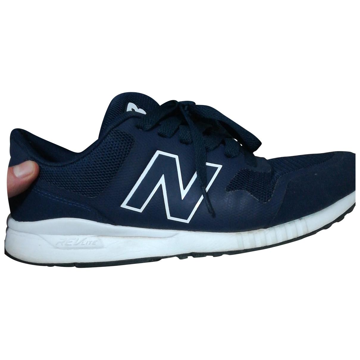 New Balance - Baskets   pour homme en toile - bleu