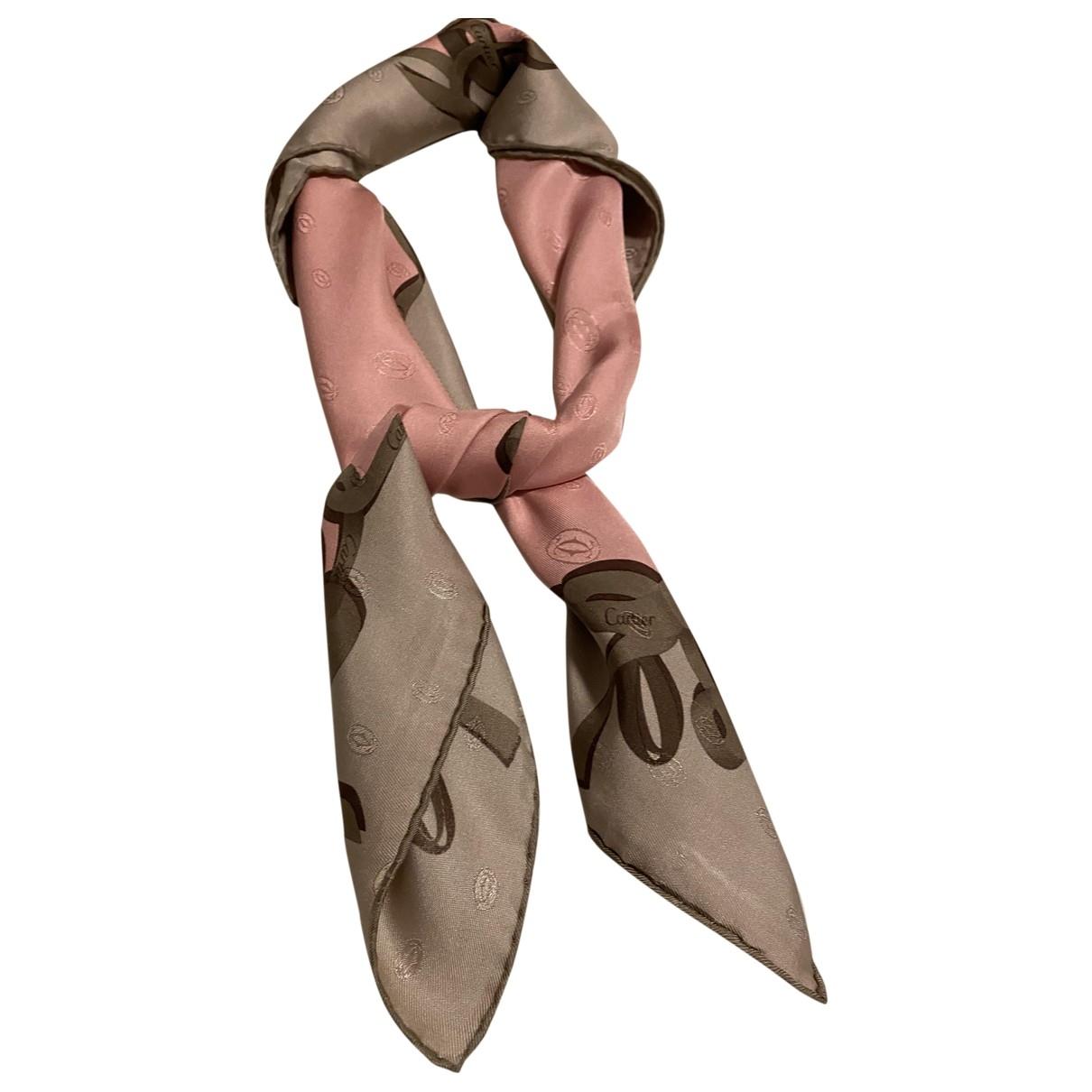 Cartier \N Silk scarf for Women \N
