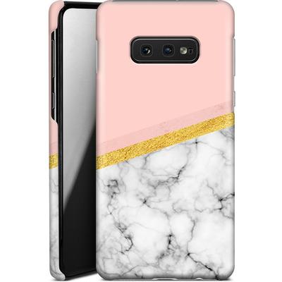 Samsung Galaxy S10e Smartphone Huelle - Marble Slice von caseable Designs