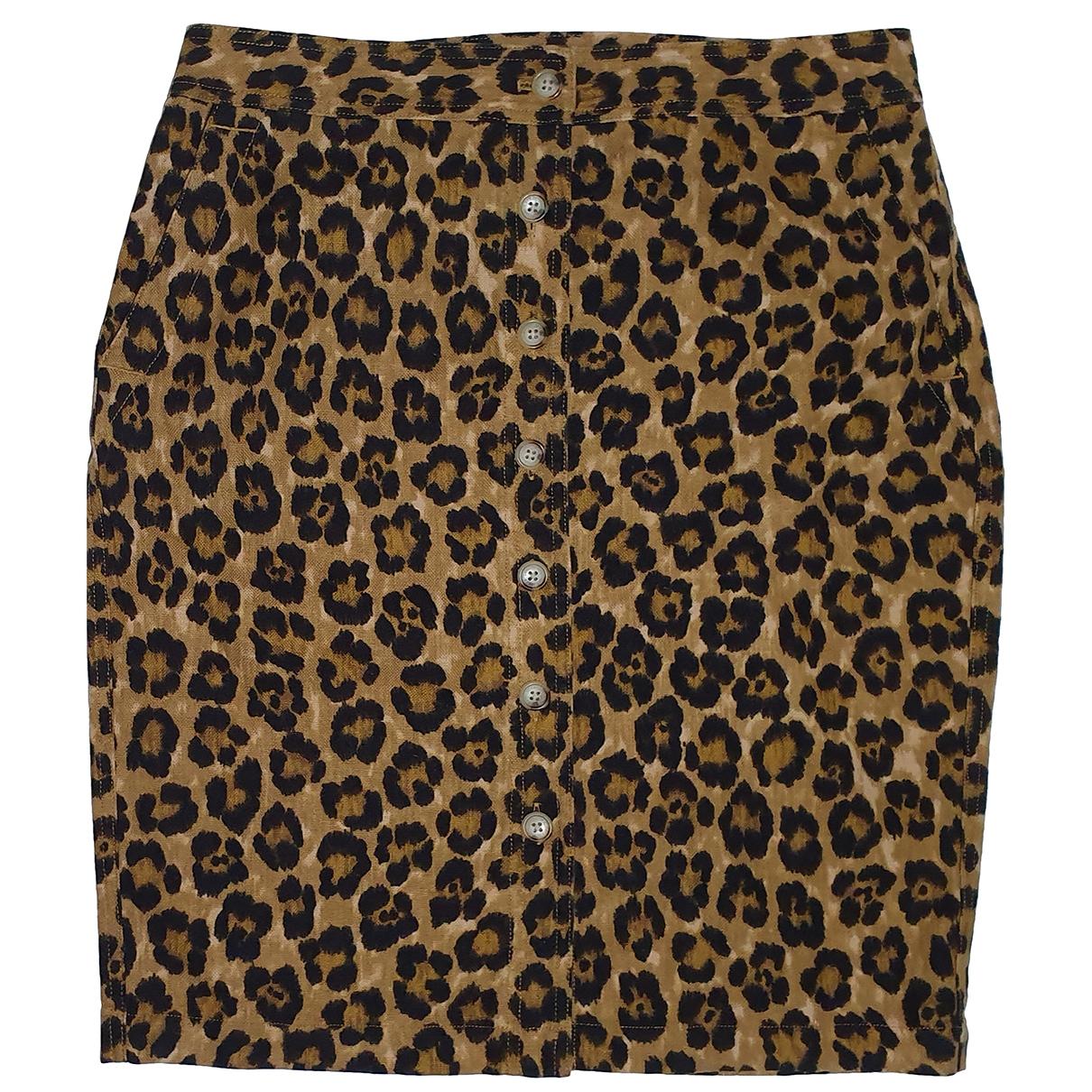 Lauren Ralph Lauren \N Multicolour Linen skirt for Women 10 US