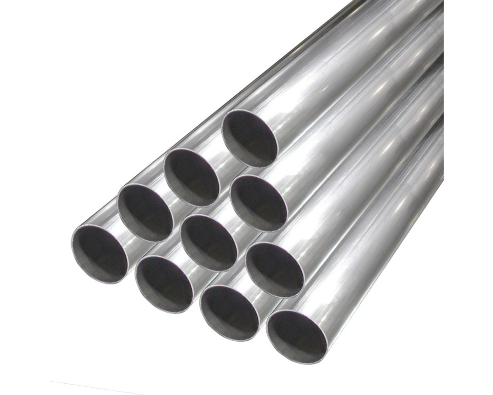 Stainless Works 3.5SS-6 Tubing Straight 3-1/2in Diameter .065 Wall 6ft