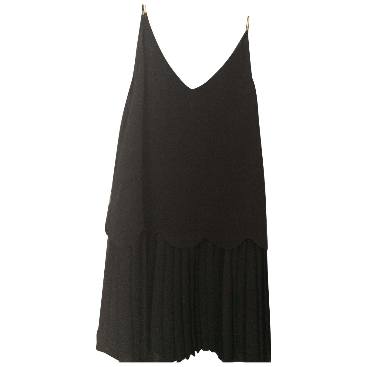 Ba&sh \N Kleid in  Schwarz Synthetik
