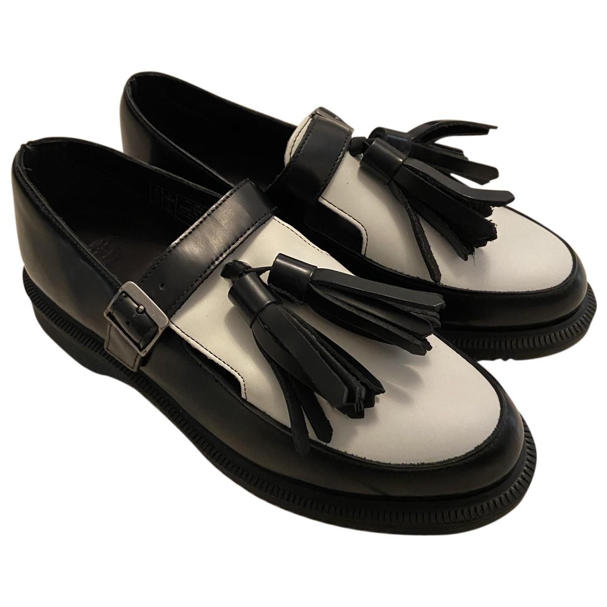 Dr. Martens N Black Leather Flats for Women 37 EU