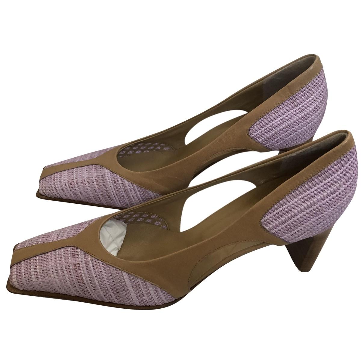 - Escarpins   pour femme en cuir