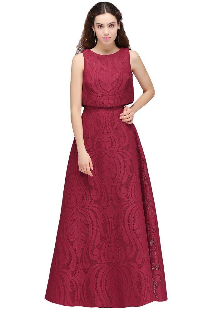 CARLA | Vestidos de fiesta largos con cuello desmontable y cuello desmontable con parte superior desmontable