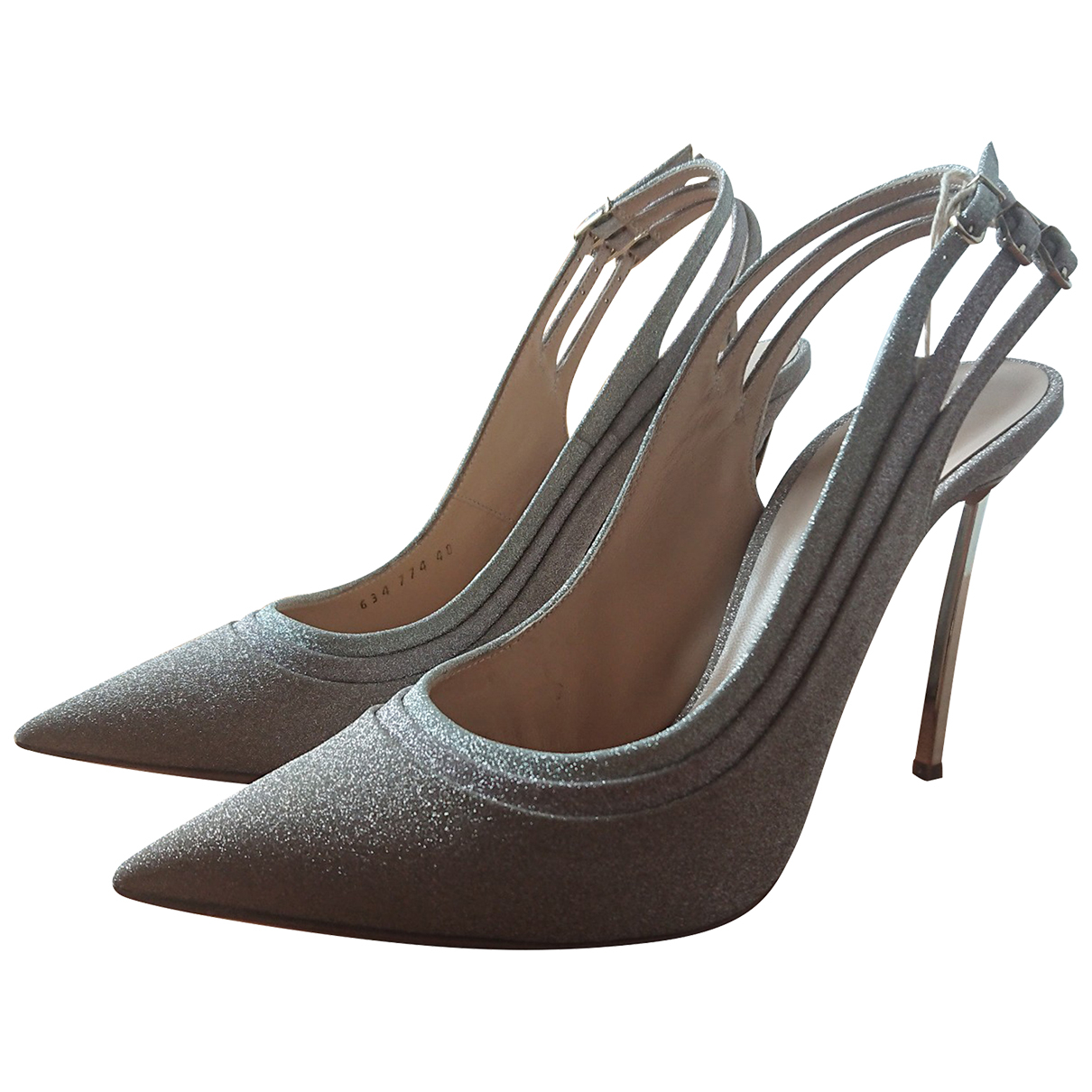 Casadei - Escarpins   pour femme en cuir