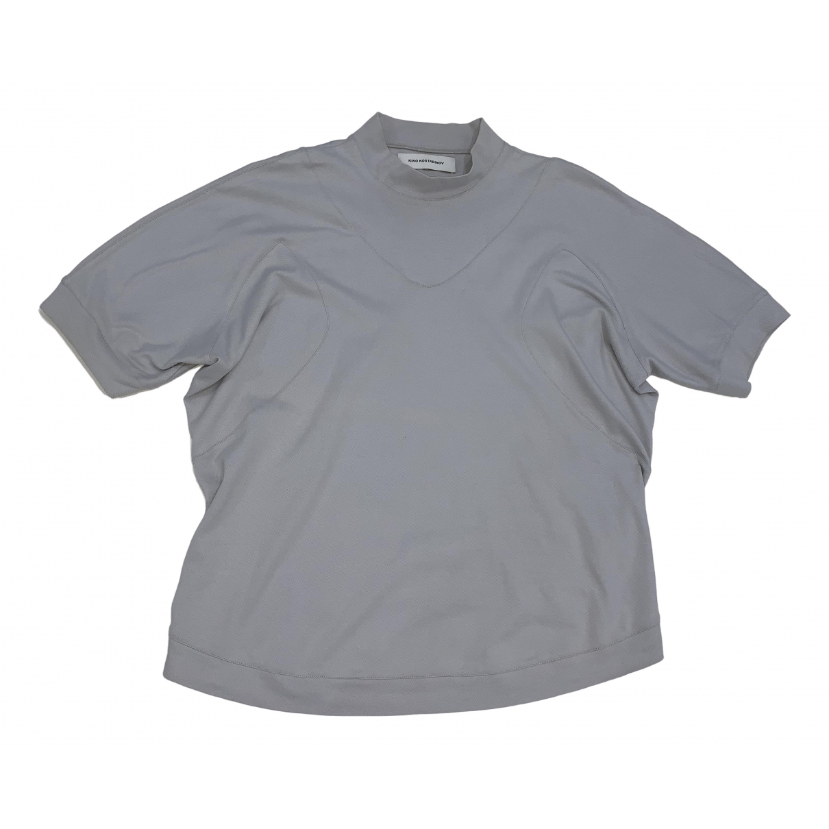Kiko Kostadinov \N Grey Cotton T-shirts for Men M International