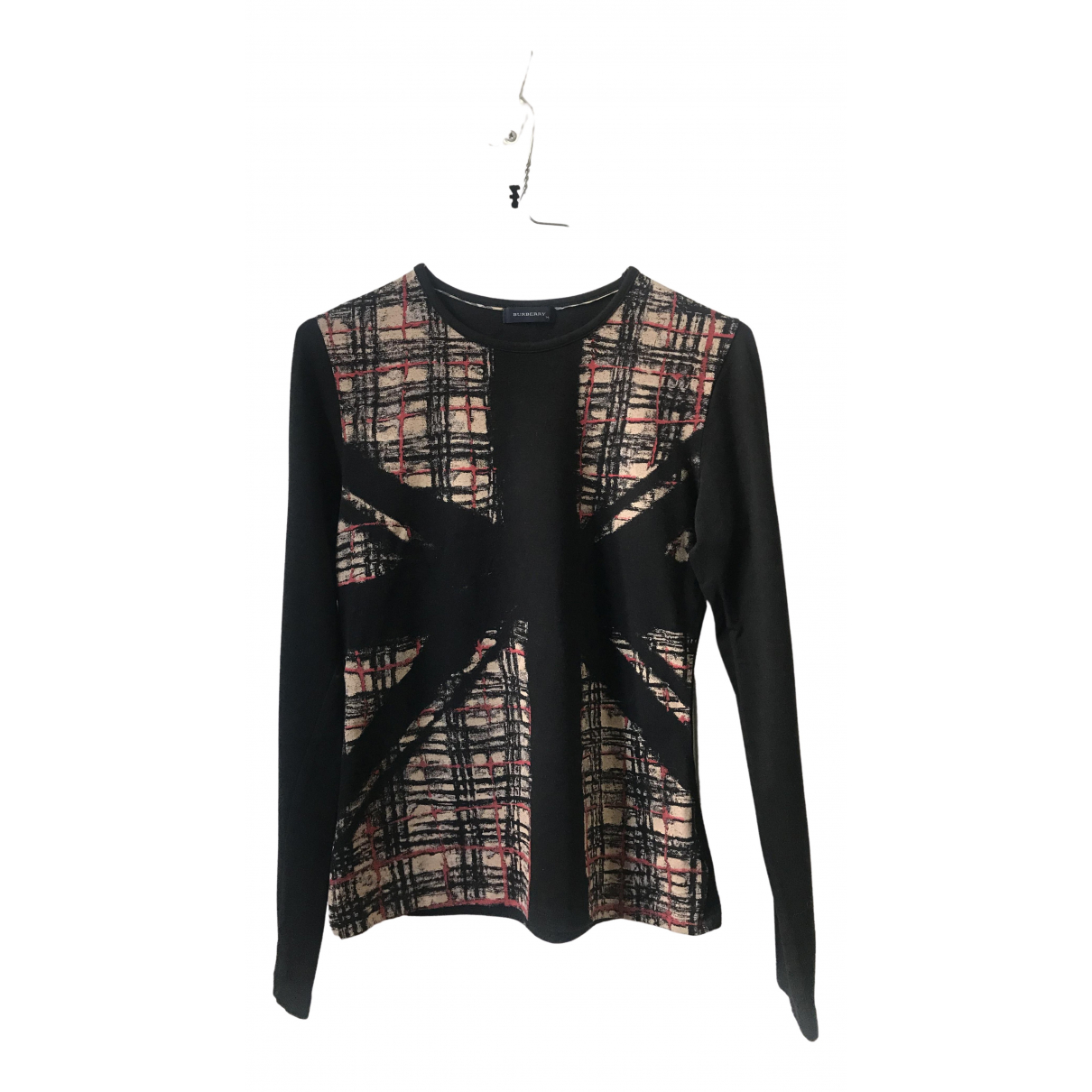 Burberry \N Black Cotton  top for Kids 14 years - S FR