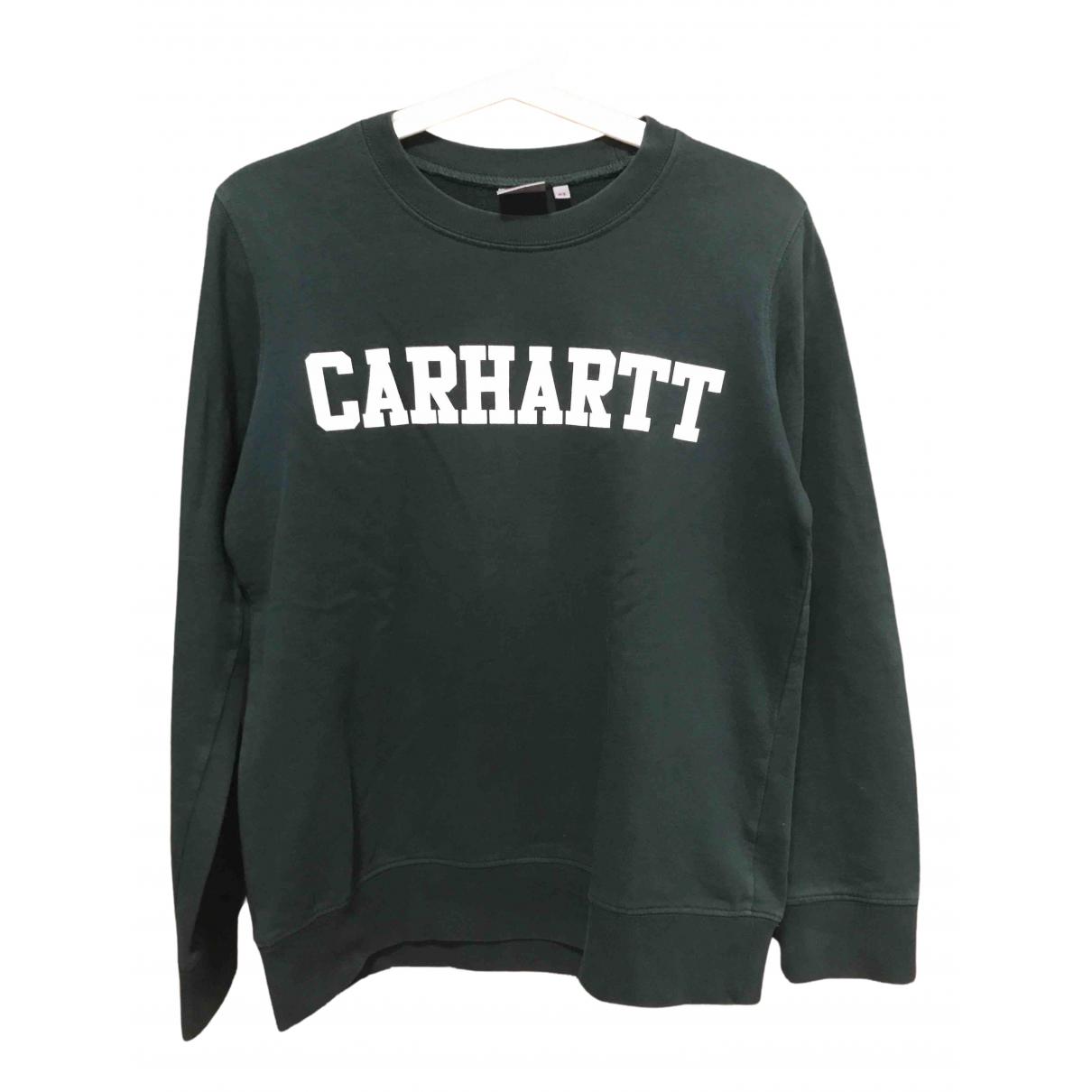 Carhartt - Pull   pour femme en coton - vert