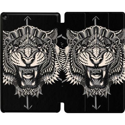 Amazon Fire HD 8 (2017) Tablet Smart Case - Eye Of The Tiger von BIOWORKZ