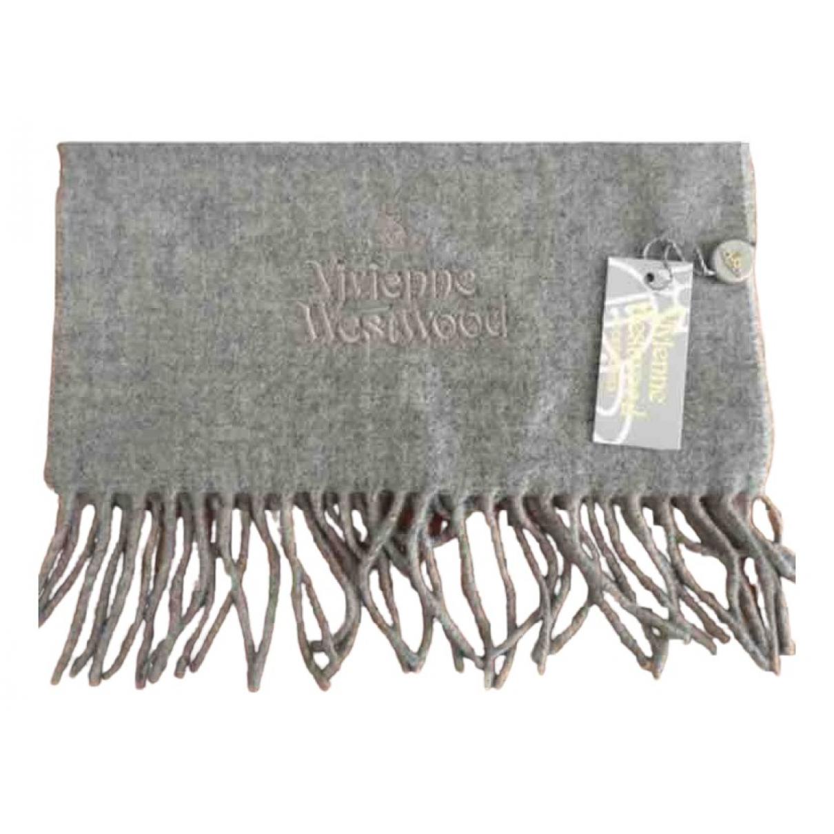 Vivienne Westwood - Cheches.Echarpes   pour homme en laine - gris