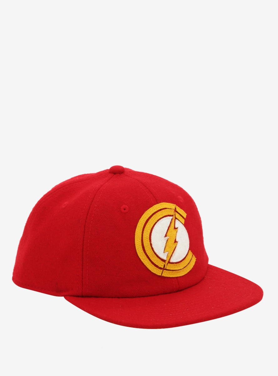 DC Comics The Flash Logo Snapback Hat - BoxLunch Exclusive
