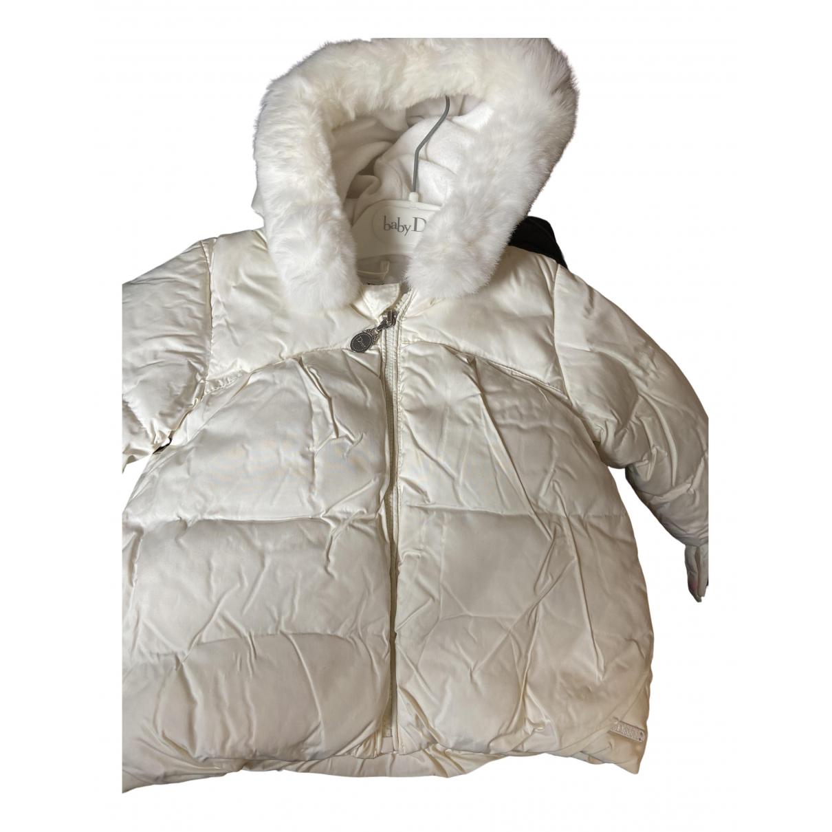Baby Dior - Blousons.Manteaux   pour enfant - blanc