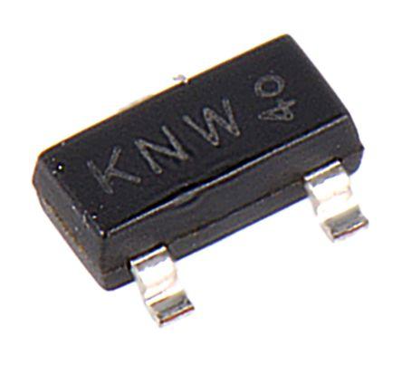 Nexperia P-Channel MOSFET, 3.5 A, 20 V, 3-Pin SOT-23  PMV48XP,215 (30)