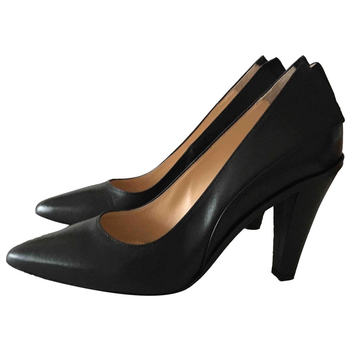 Comptoir Des Cotonniers - Escarpins   pour femme en cuir - noir