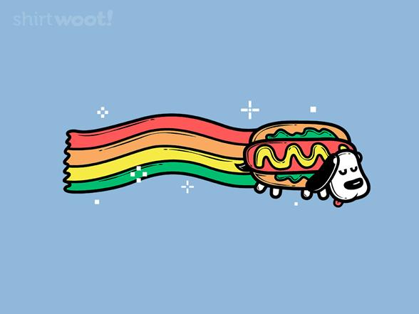 Yay Hotdog T Shirt