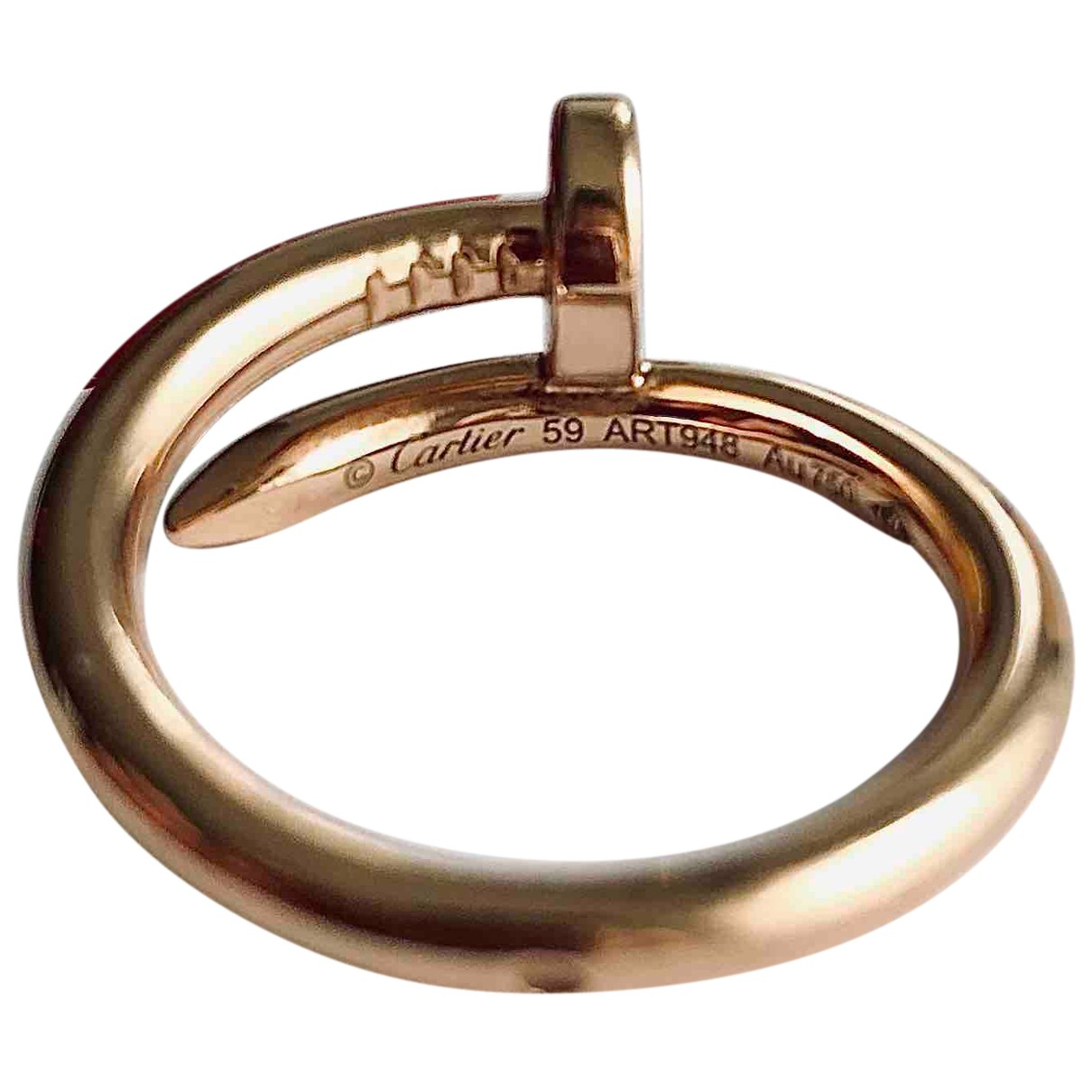 Cartier Juste un Clou Ring in  Rosa Rosegold