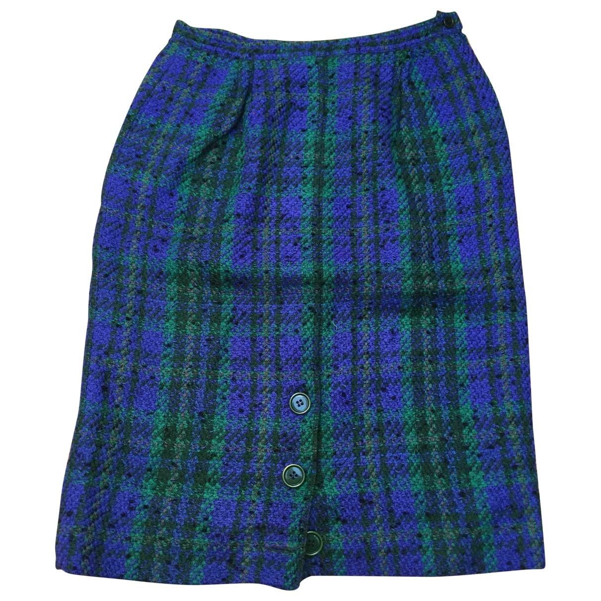 Valentino Garavani \N Multicolour Wool skirt for Women 46 IT