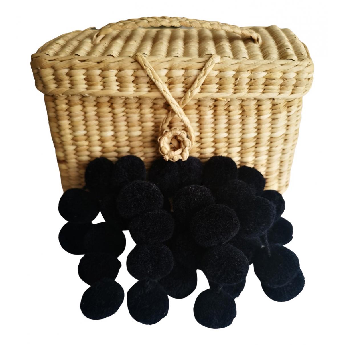 Nannacay \N Beige Wicker handbag for Women \N
