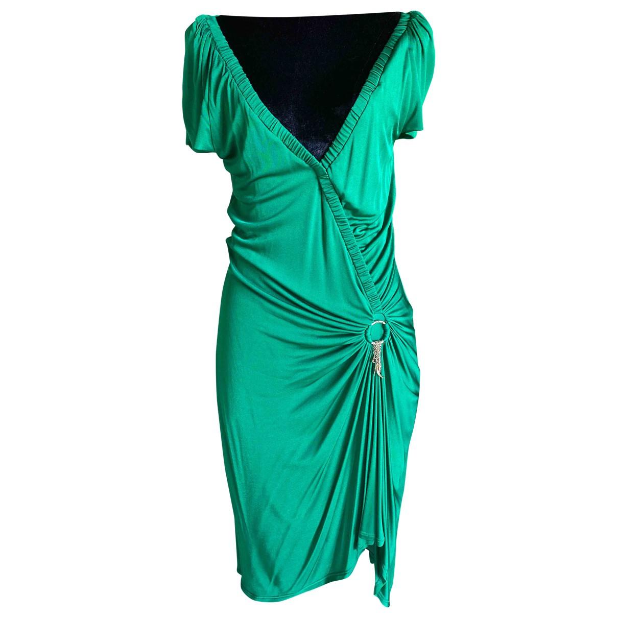 Roberto Cavalli \N Green dress for Women 42 IT
