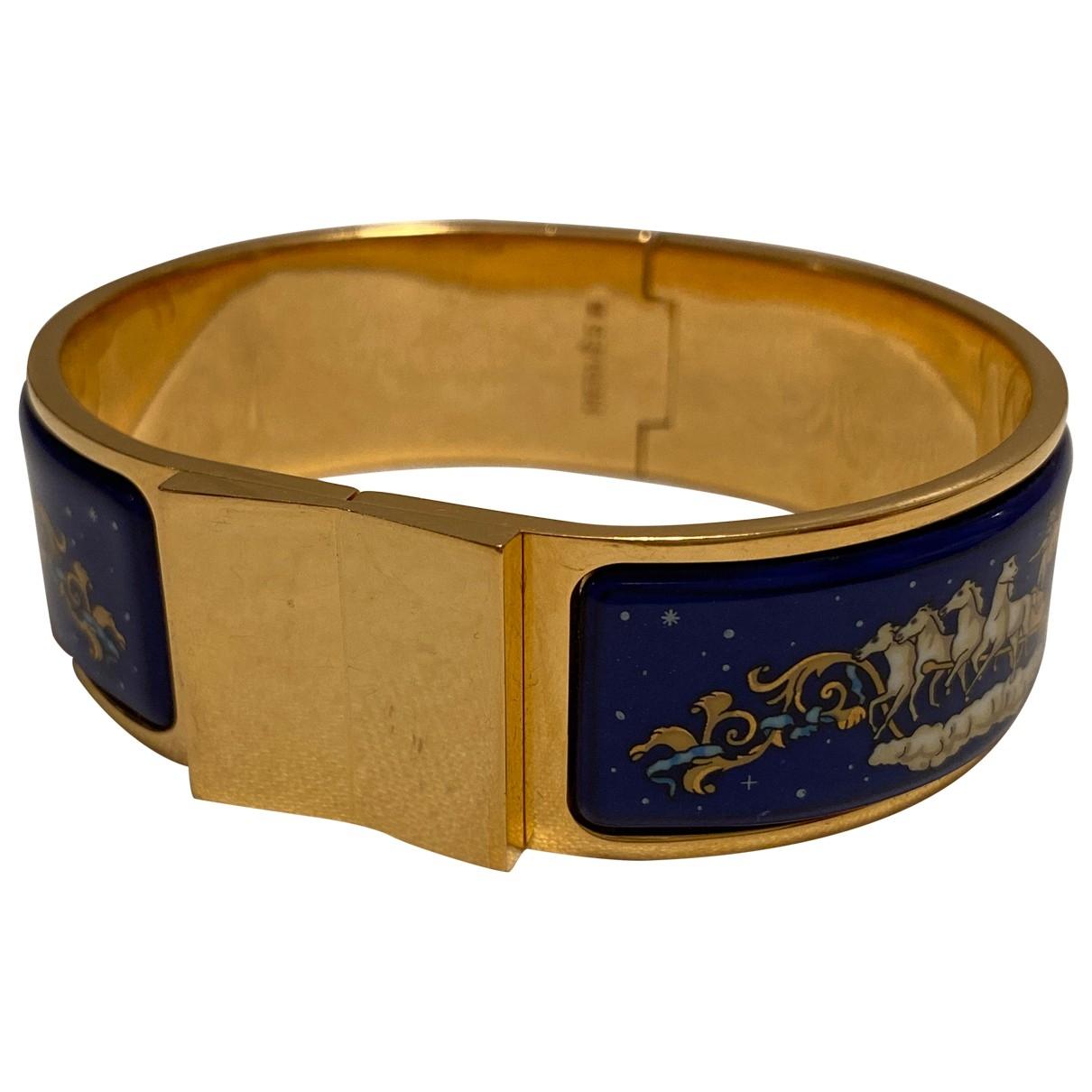 Hermes Bracelet Email Armband in  Bunt Metall