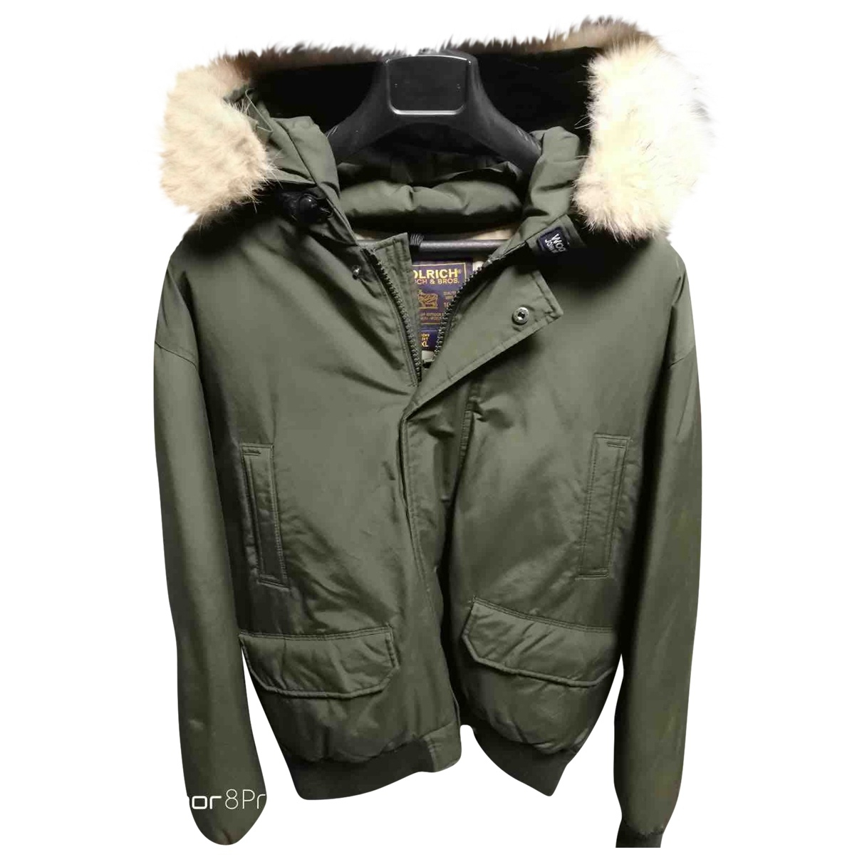 Woolrich - Manteau   pour homme - vert
