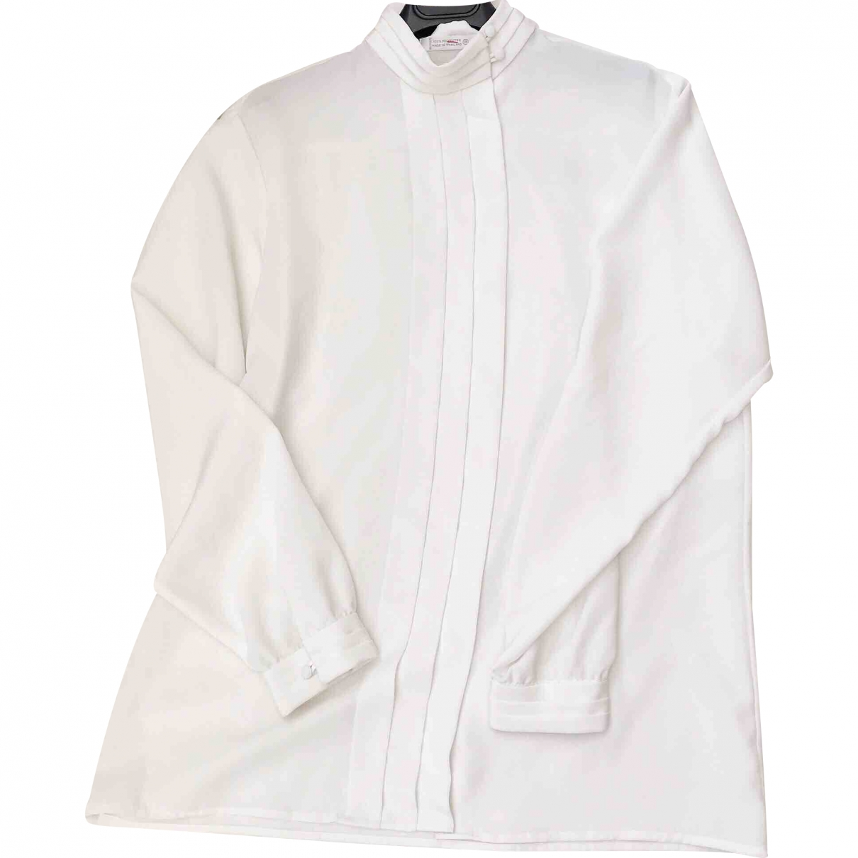 Non Signé / Unsigned \N White  top for Women 8 US