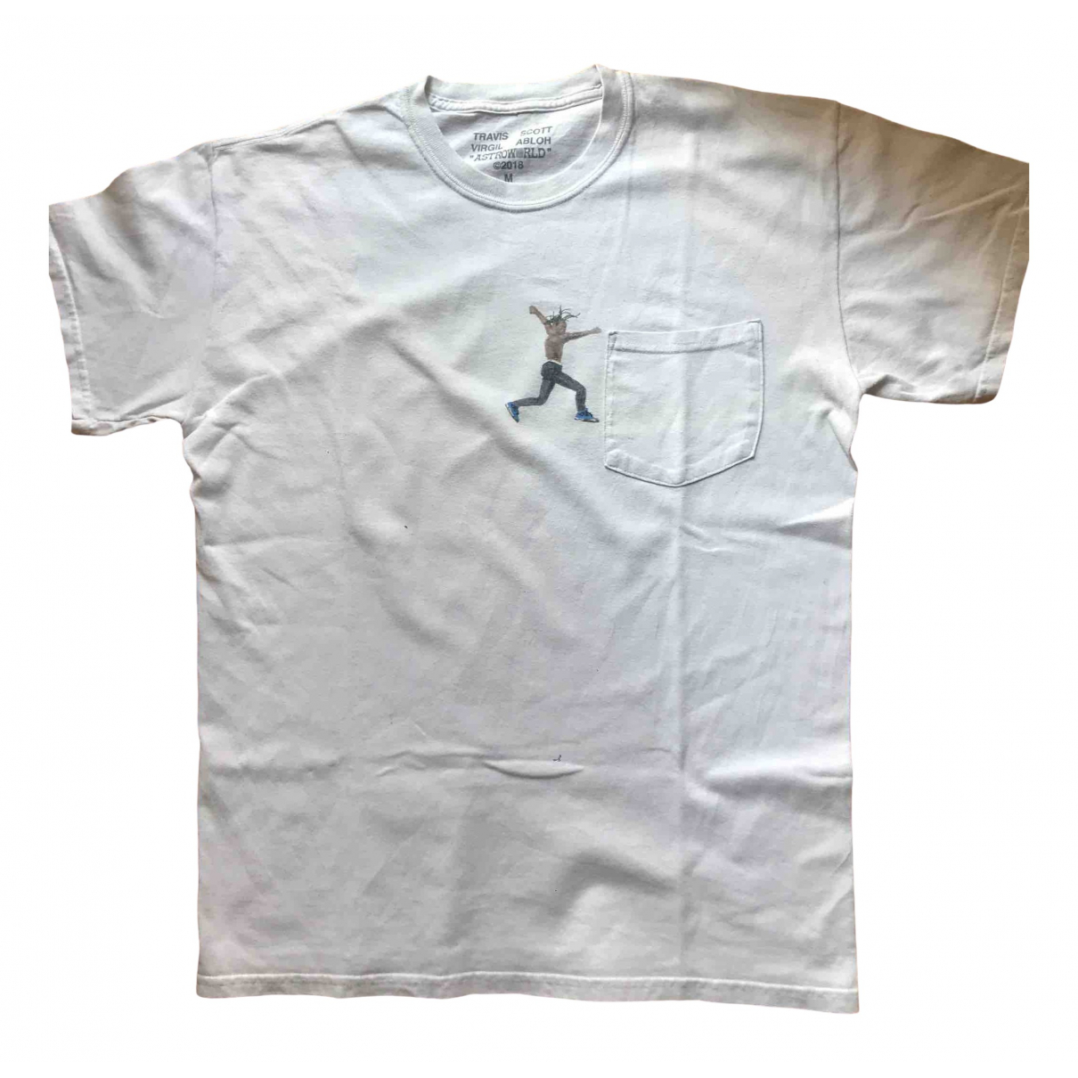 Off-white \N White Cotton T-shirts for Men M International