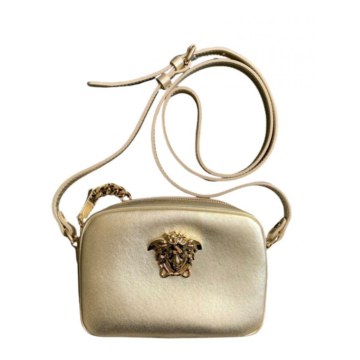 Versace \N Gold Leather handbag for Women \N