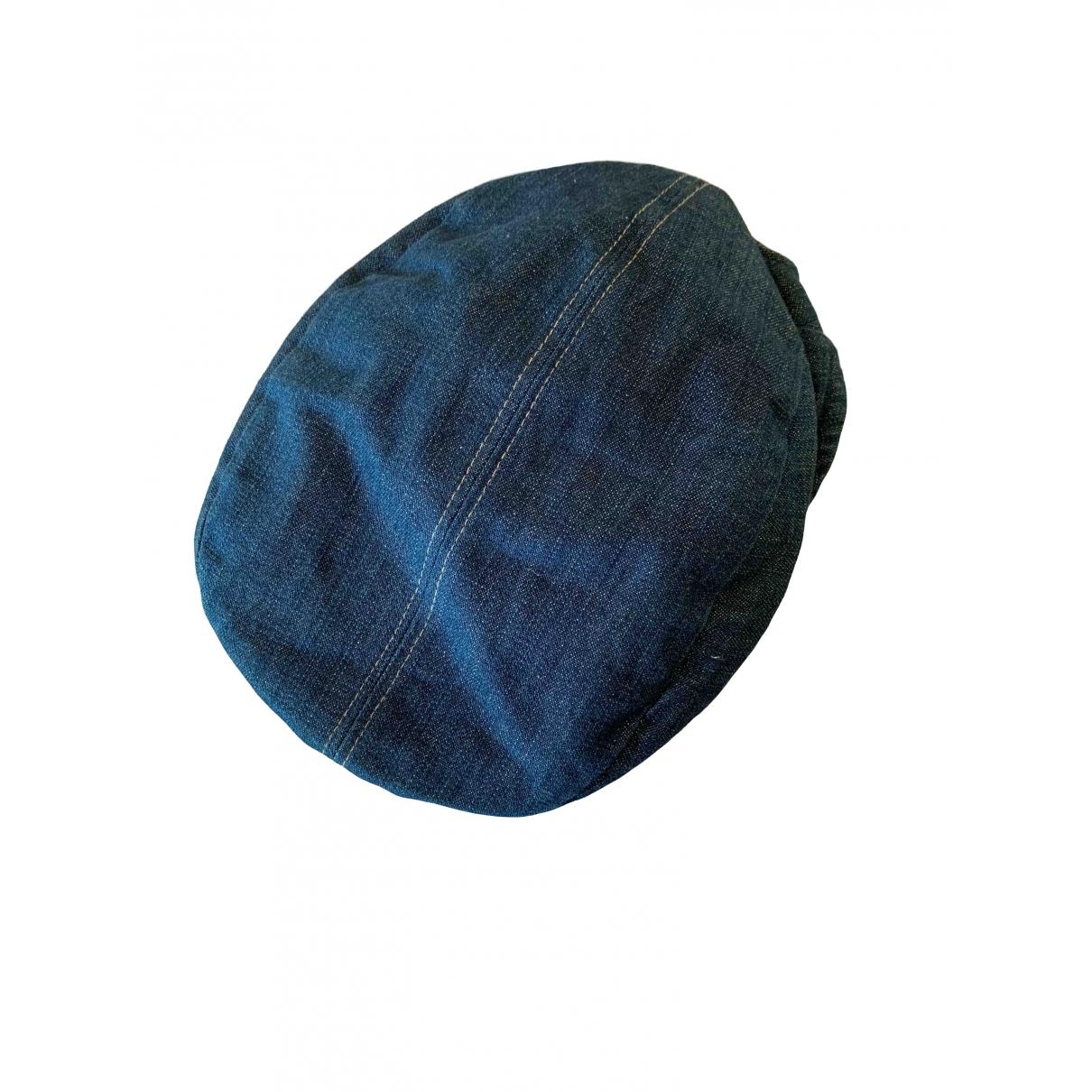 - Chapeau   pour femme en coton - bleu