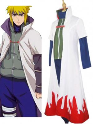 Milanoo Naruto Namikaze Minato Halloween Cosplay Costume  Halloween