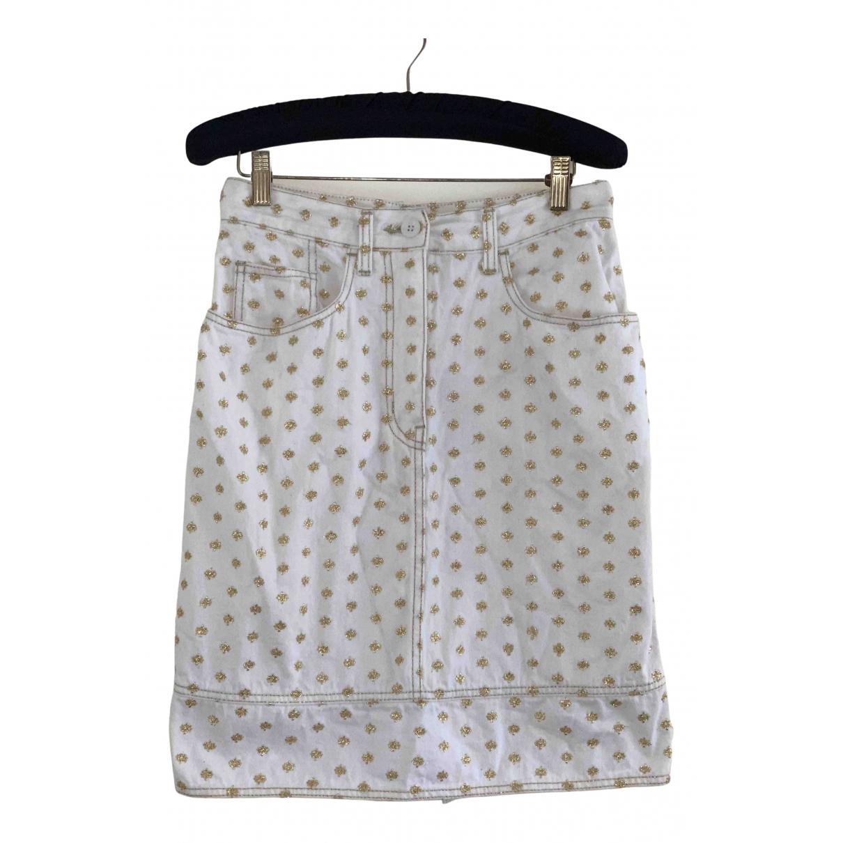 Moschino Love - Jupe   pour femme en coton - blanc