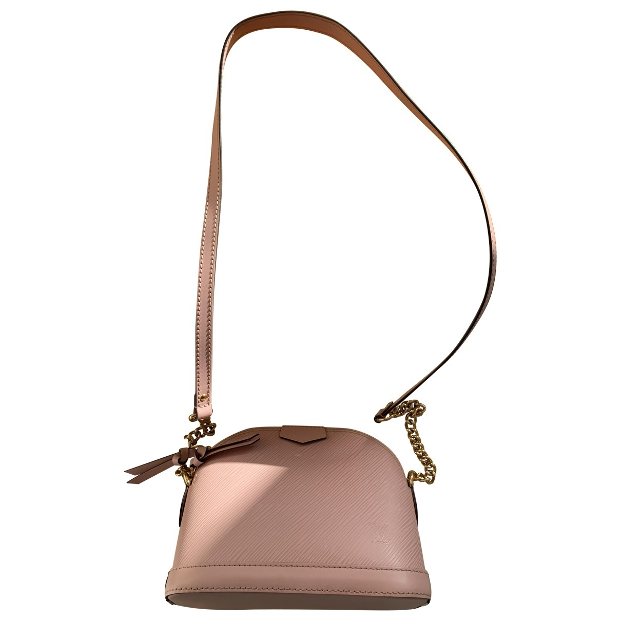 Louis Vuitton Alma BB Pink Leather handbag for Women \N