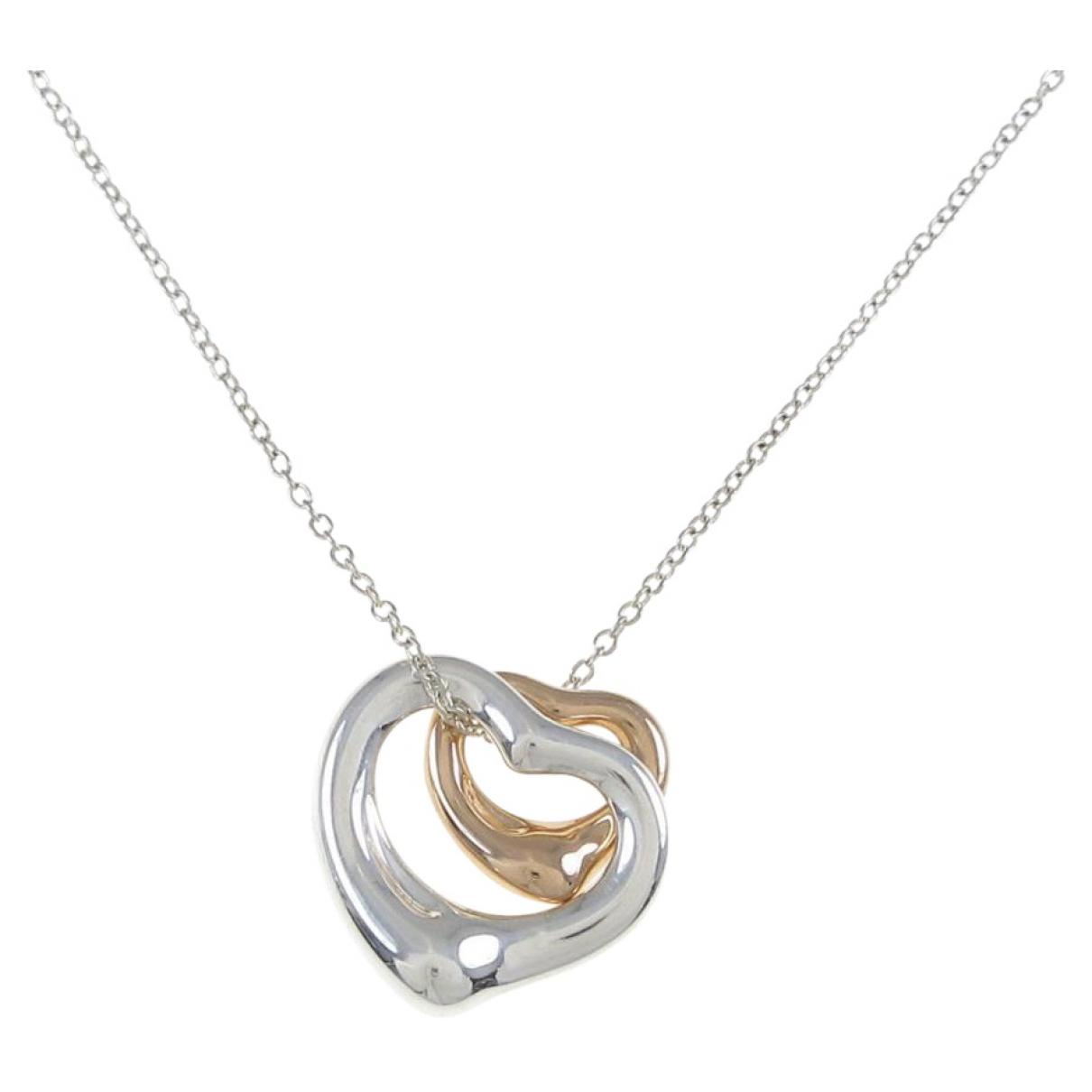 Tiffany & Co Elsa Peretti  Kette in  Silber Rosegold