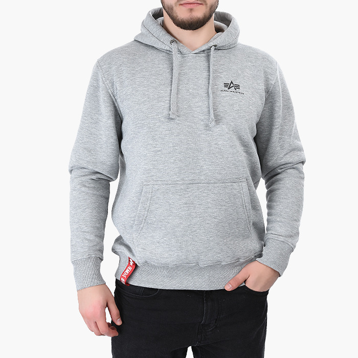 Alpha Industries Basic Hoody Small Logo 196318 17