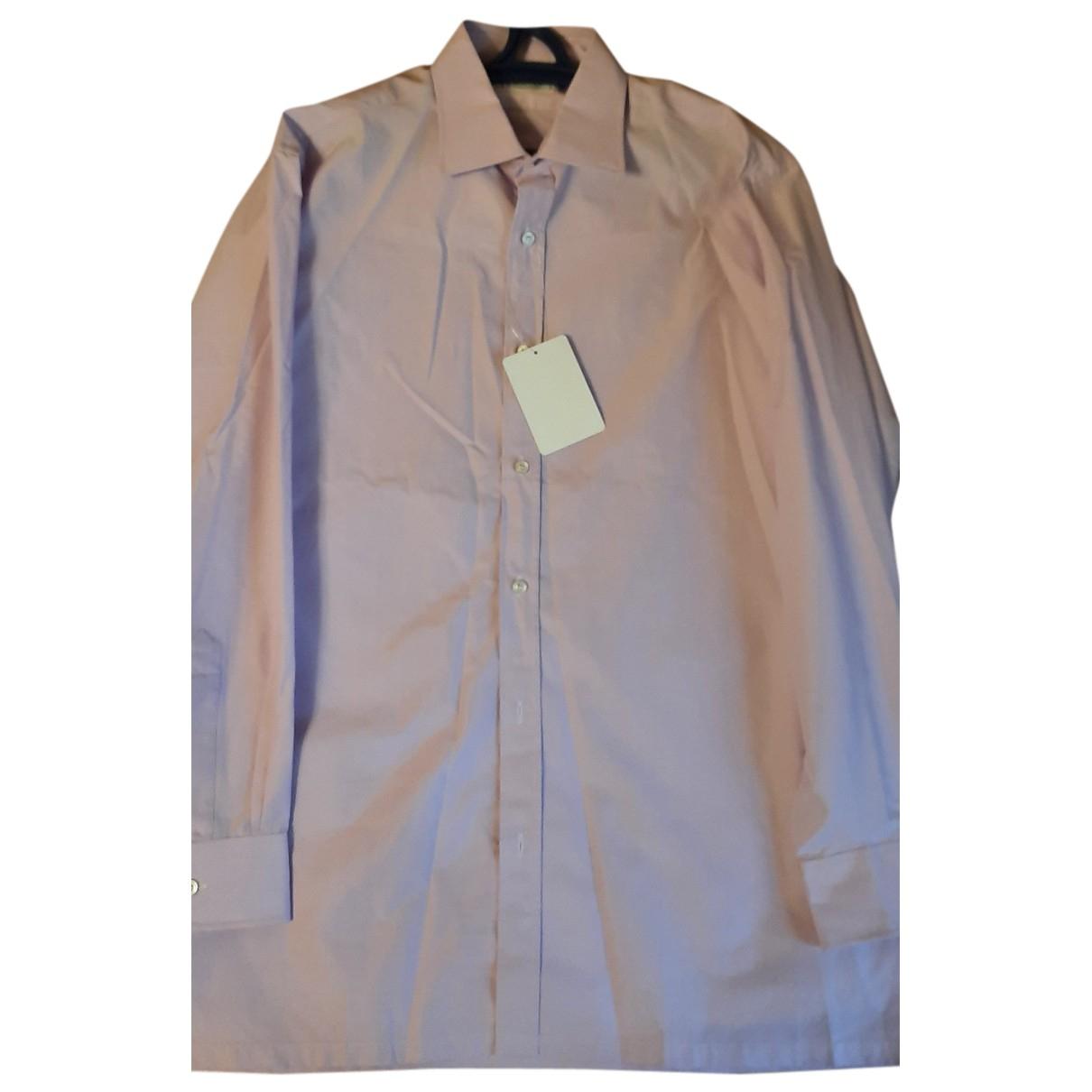 Charvet - Chemises   pour homme en coton - rose
