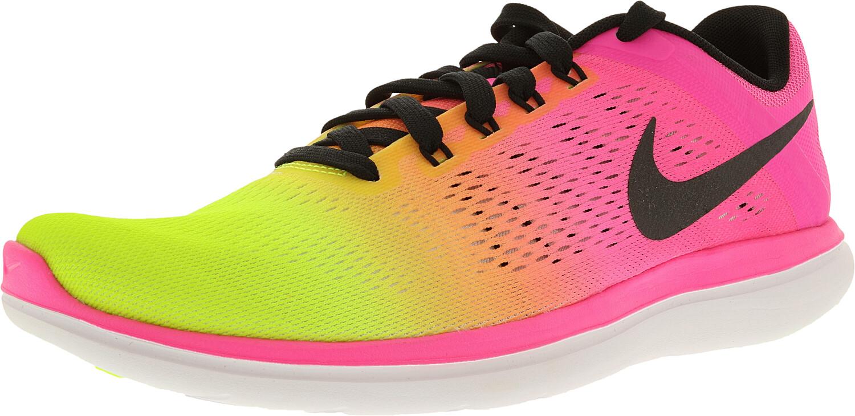 Nike Men's Flex 2016 Rn Oc Multi-Color/Multi-Color Ankle-High Mesh Cross Trainers - 11M