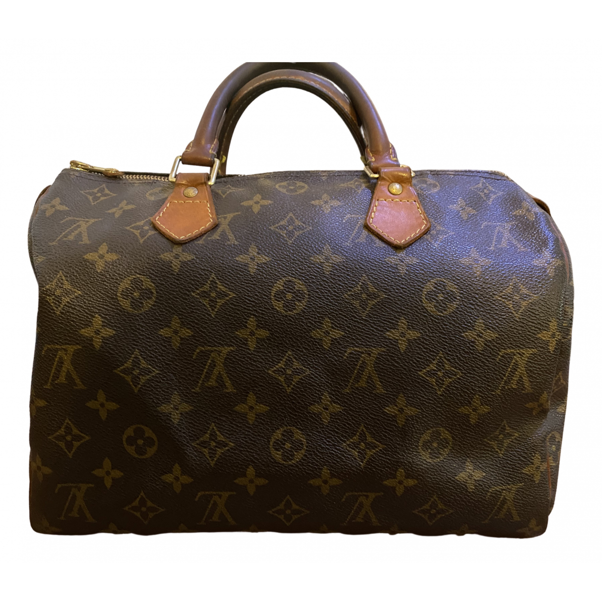 Louis Vuitton Speedy Brown Leather handbag for Women N