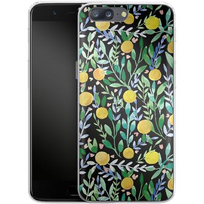 OnePlus 5 Silikon Handyhuelle - Bright Blossoms von Iisa Monttinen
