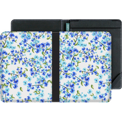 tolino vision 2 eBook Reader Huelle - Blue Blooms von Mukta Lata Barua